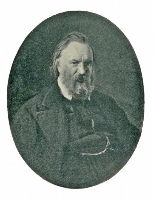 Н. Н. Ге. Портрет А. И. Герцена. 1867
