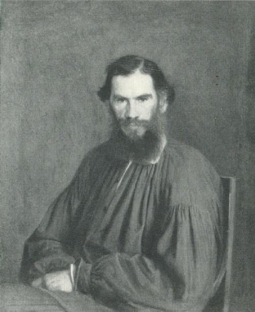 Н. Н. Крамской Портрет Л.Н. Толстого 1873