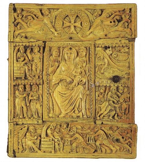 Оклад Эчмиадзинского евангелия 989 года. VI в.