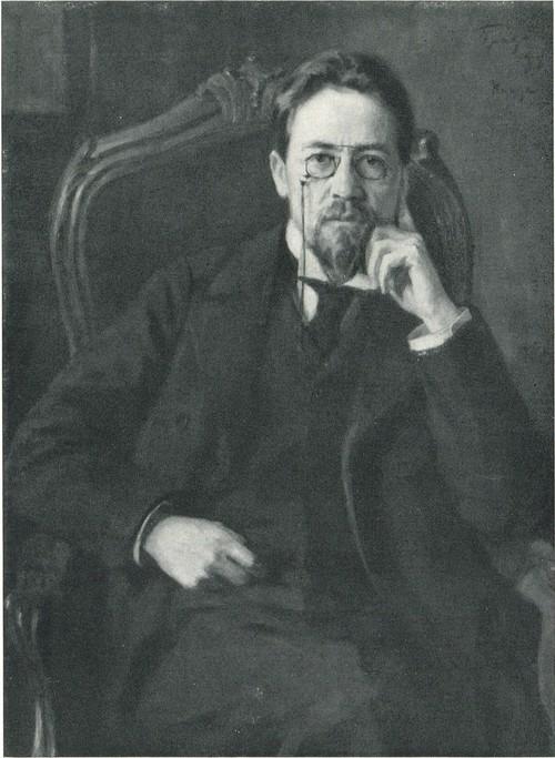 О. Э. Браз. Портрет А. П. Чехова. 1898