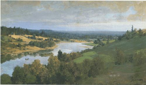 Река Оять 188o-e гг.