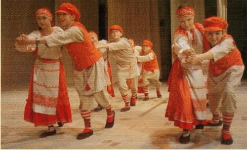 Танец Кассарекка