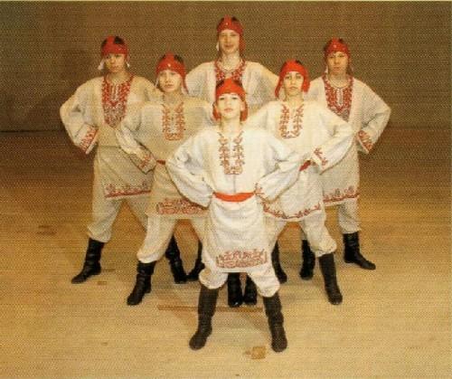 Танец Святая Русь