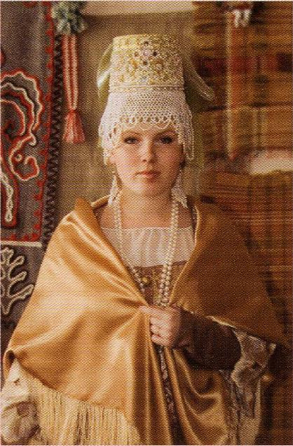 Традиционный костюм Карелии