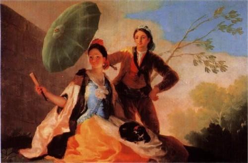 Франсиско де Гойя Зеленый зонтик