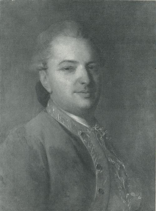 Ф. С. Рокотов. Портрет поэта В. И. Майк Ок. 1765