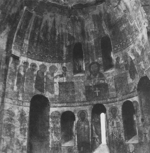 Церковь в Кобайре. 1263. Интерьер восточной апсиды