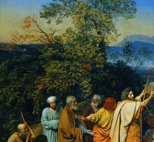 Явление Христа народу фрагмент