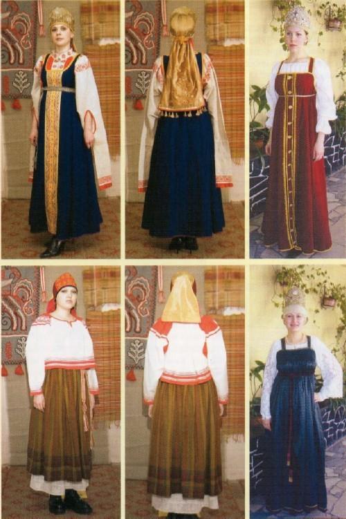 рубаха с сарафаном