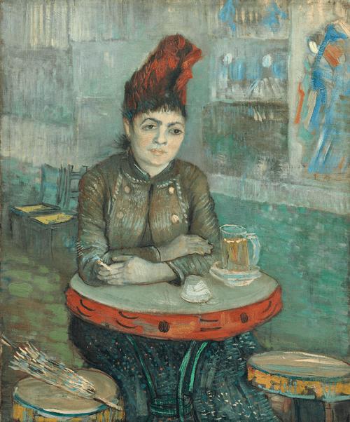 Агостина Сегатори в кафе «Тамбурин». 1887 год.
