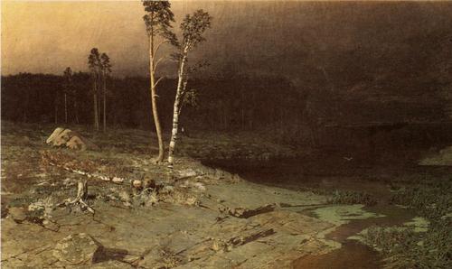 А. И. Куинджи. На острове Вааламе. 1873