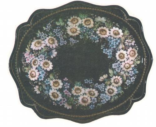 Б. Графов. Венок цветов. 1975.