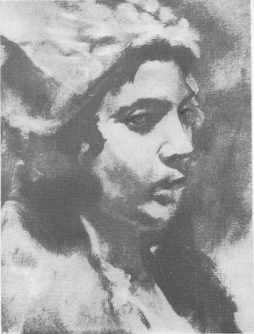 Б. Иогансон. Допрос коммунистов. Этюд к картине. Масло. 1933.
