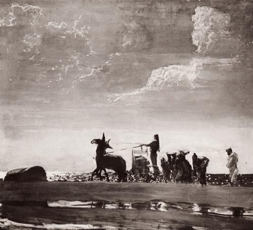 Валентин Александрович Серов Одиссей и Навзикая. 1910