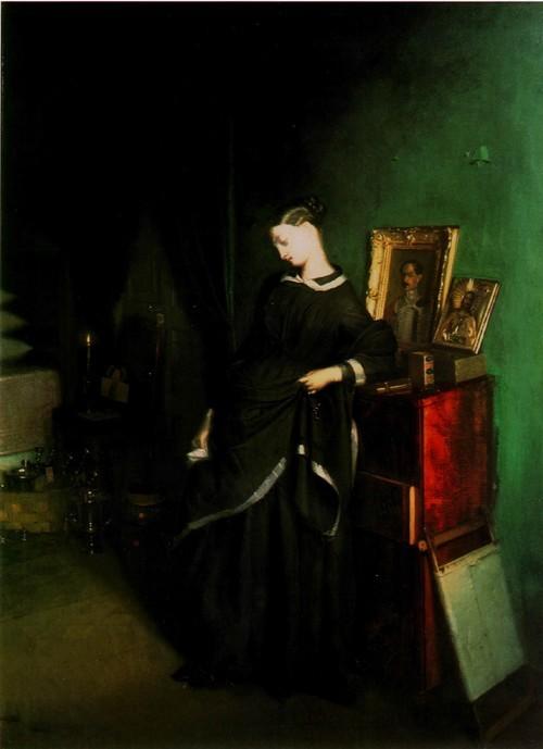 Вдовушка (с зеленой комнатой) . 1850