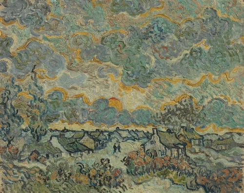 Воспоминание о Брабанте. 1890 год. Масло, холст. 29,4×36,5 см. Музей Ван Гога (Амстердам, Нидерланды)
