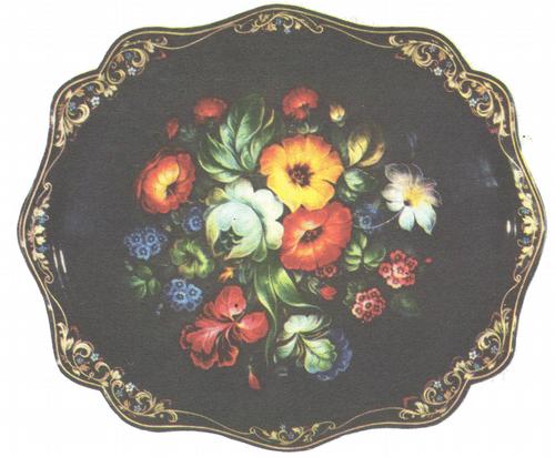 В. Пыжов. Букет цветов. 1974.