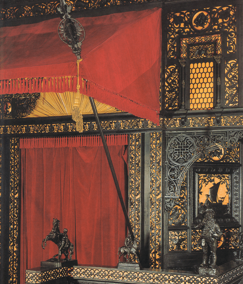 Главный вход в павильон Фрагмент