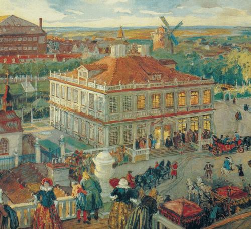 Дом Анны Монс в Немецкой слободе. 1911 год