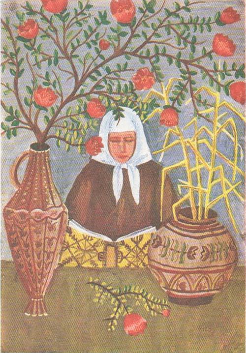 Жилвинас Ли л ас (12 лет). Продавщица цветов. Гуашь.