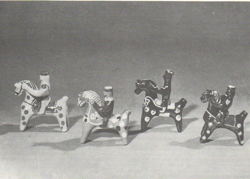 Игрушки. Полтавская область, Опошня. 1962.
