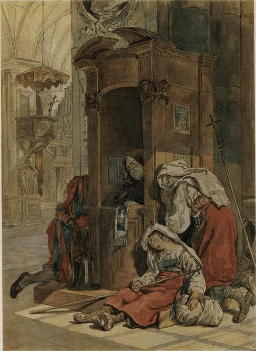 Исповедь итальянки. 1827—1830