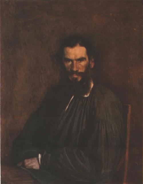 И. Крамской Портрет Л.Н. Толстого. Масло 1873