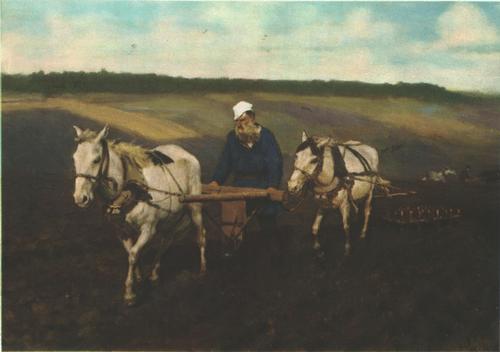 И. Репин. Лев Николаевич Толстой