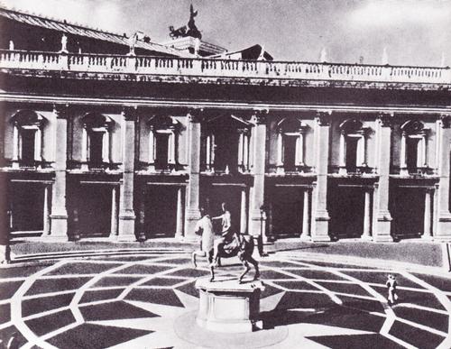 Капитолий в Риме. Дворец Консерваторов. 1563—1584.