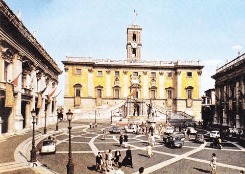Капитолий в Риме. 1538, около 1546 — около 1654.