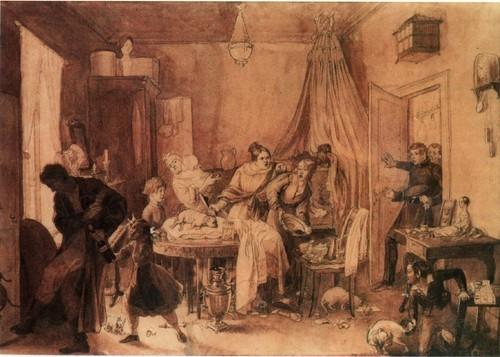 Кончина Фидельки. 1844-1846