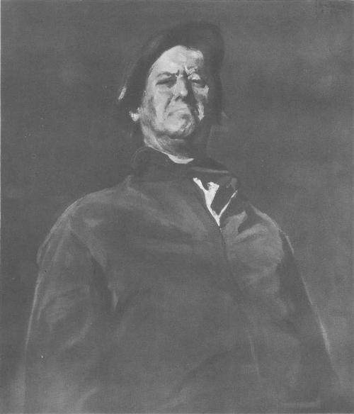 К. Баба, Автопортрет. 1955