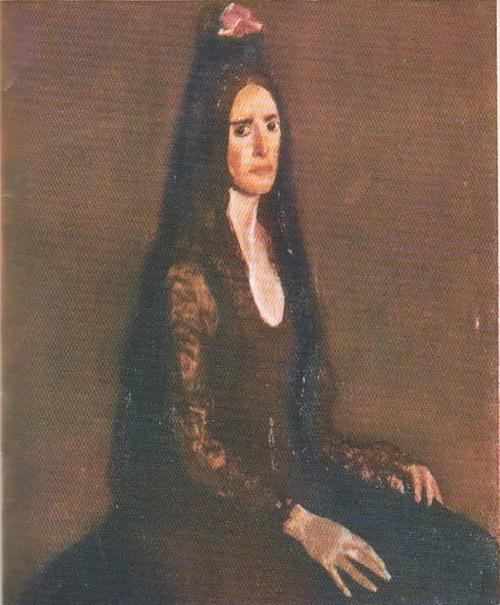 К. Баба. Портрет Испанка 1976