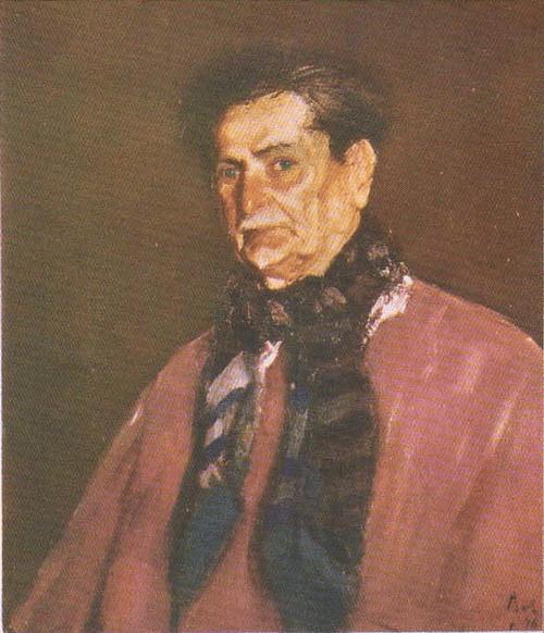 К. Баба. Портрет Михаила Сорбула. 1946