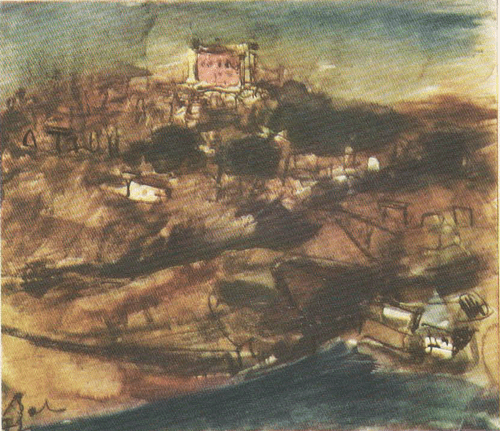 К. Баба. Толедо. 1976