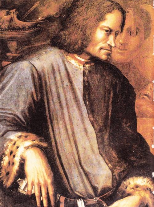Лоренцо Великолепный с фрески Джорджо Вазари.