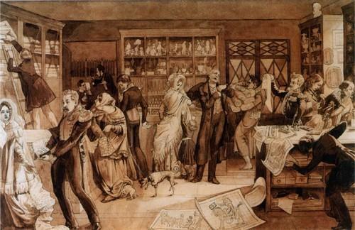 Модный магазин. 1844-1846