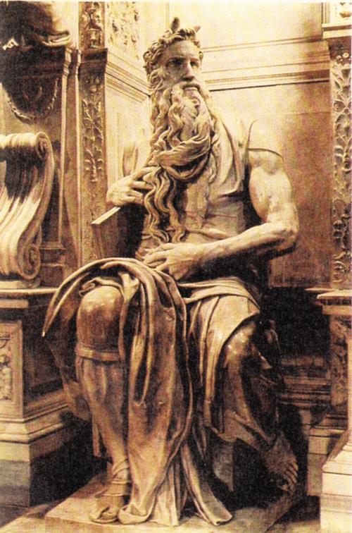 Моисей. Около 1515.