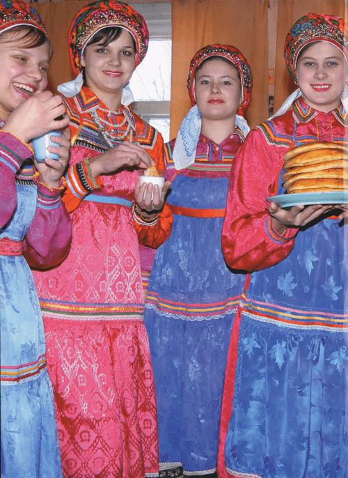 Костюм Мордвы Эрзи