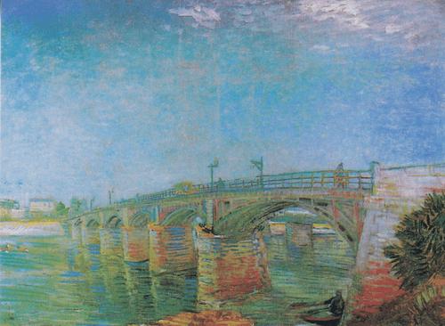 Мост через Сену в Аньере. 1887 год.