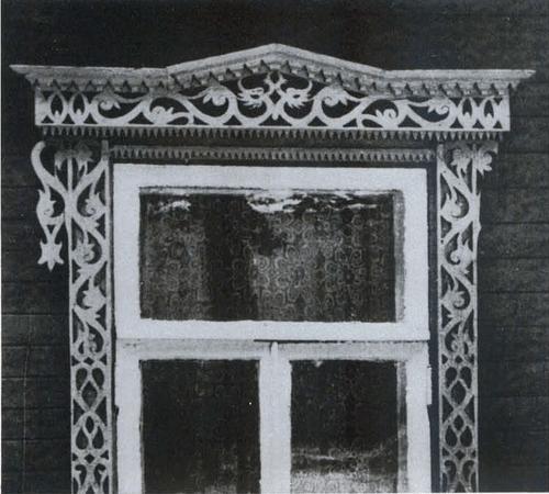 Наличник дома по улице Князева, 3