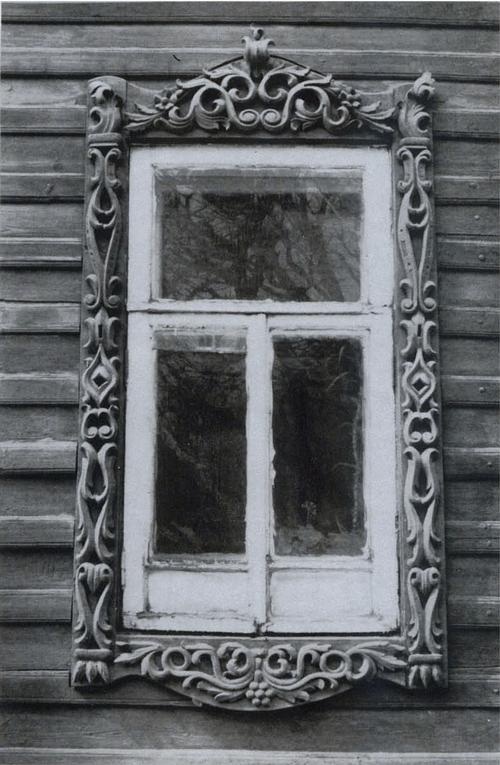 Наличник дома (ул. Ленина, 21)