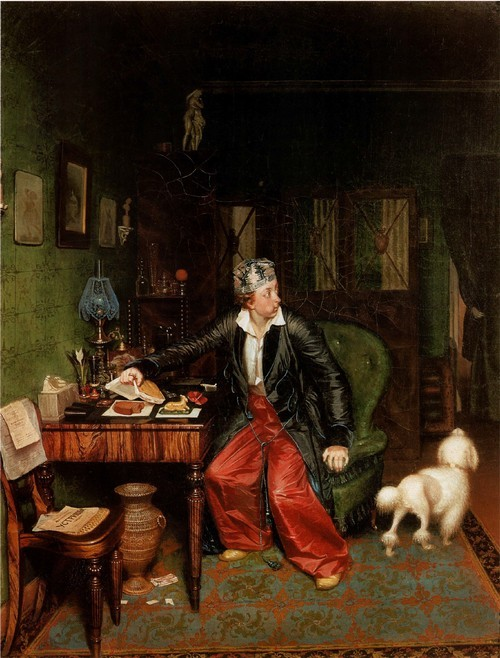 Не в пору гость. Завтрак аристократа . 1850