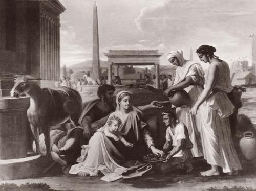 Никола Пуссен Святое семейство в Египте. 1658