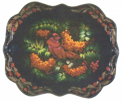 Н. Гончарова. Фазан. 1975.