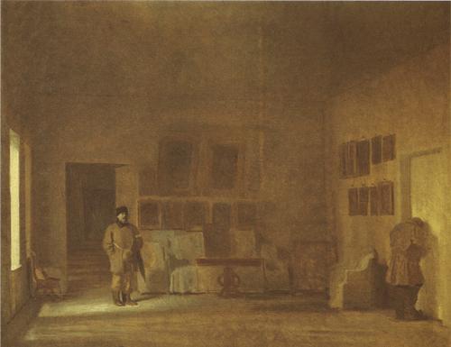 Осмотр старого дома. 1873