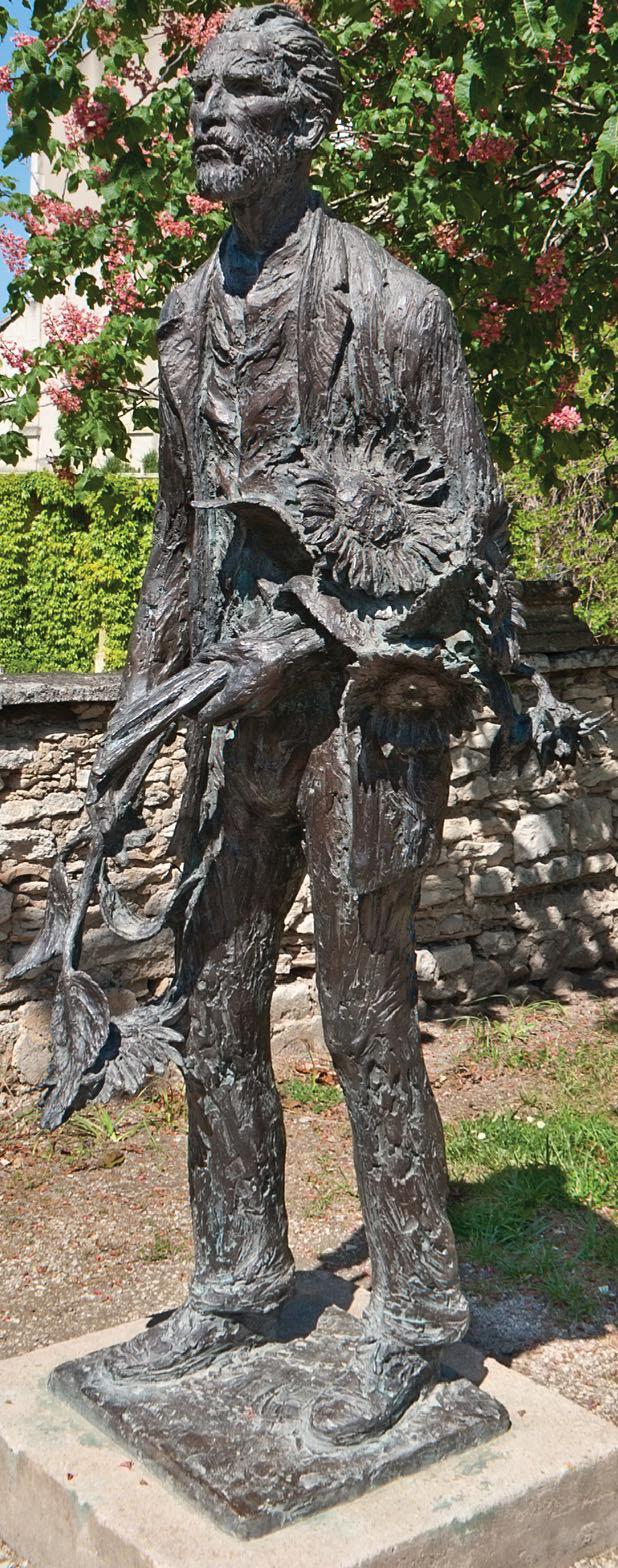 Памятник Ван Гогу в Сен-Реми-де-Прованс