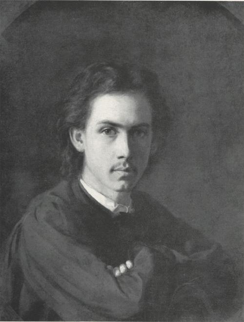 Портрет Гаврилова. 1863-е гг.