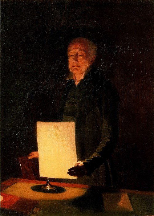 Портрет Егора Гавриловича (Георга Готфрида) Флуга. 1848