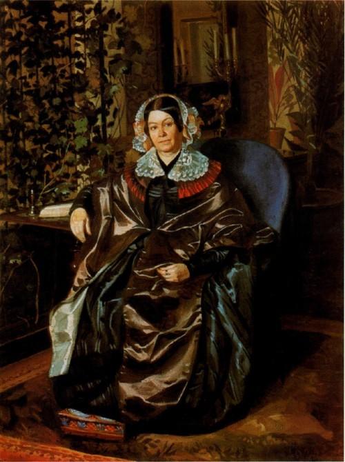 Портрет Марии Павловны Дружининой. 1848-1849